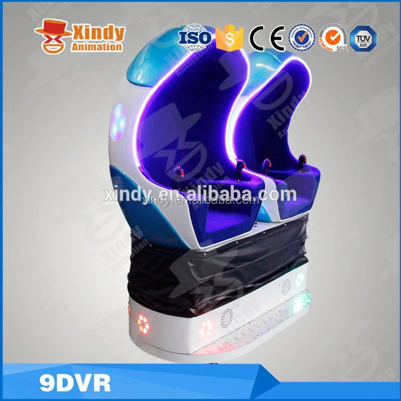 2016 Hong Kong fair with 9d egg seat 3 seat egg design cinema 9d theme park 9d cinema simulator for sale 9d vr cinema equipment