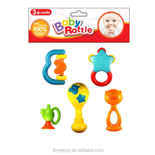 plastic Baby Rattles excellent quality kids bell pretty style