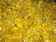 Yellow Decorative Crushed Glass Cullet