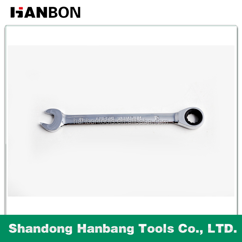 8-32mm mirror surface combination ratchet wrench