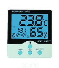 Digital Decorative Temperature Hygrometer for Lab or Home