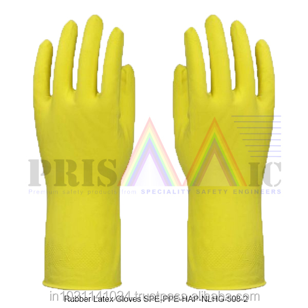 Rubber Latex Gloves ( SPE-PPE-HAP-NLHG-508-2 )