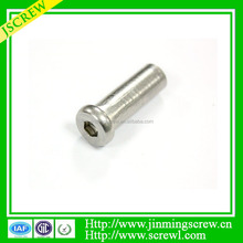 slotted cheese head step screws High Quality Socket Nut
