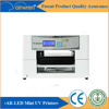 flatbed printer and automatic grade souvenir logo printer with one year warranty