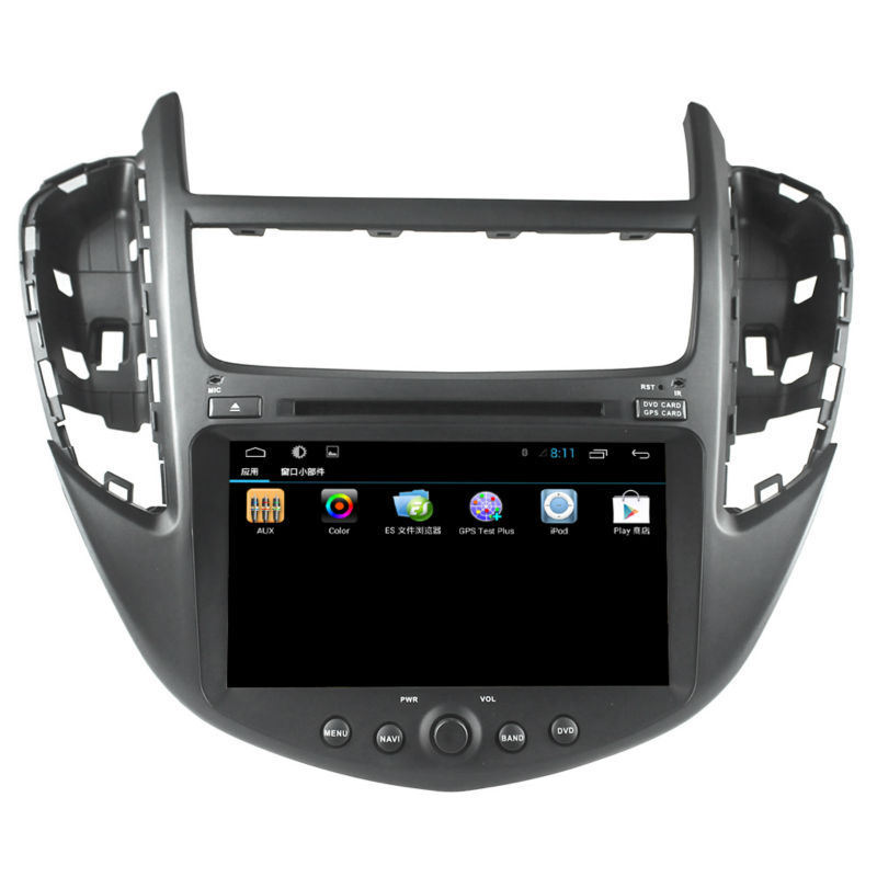 "7"" 2din 4-core android 4.4 High-definition screen auto radio car multimedia dvd player with gps,3g wifi, for Chevrolet TRAX"