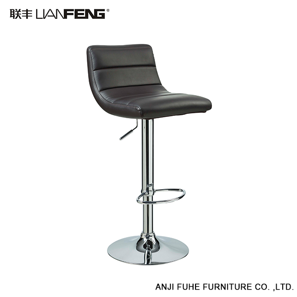 LIANFENG cheap high top leather back bar stools for sale