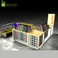 Newest Retail mobile phone kiosk with sim phone card display showcase for shopping mall
