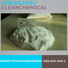 international famous high quality Sodium Hexametaphosphate(SHMP) water soften and purify raw material U.N. supplier