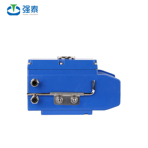 2018 New Coming stainless steel quarter-turn electric valve actuator with control ball valve, butterfly val