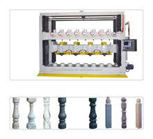 Stone turning lathe machine for balusters and columns