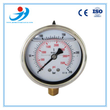 Y60-BG318 High Quality Biogas Pressure Gauge Manometer/ high accuracy pressure gauge