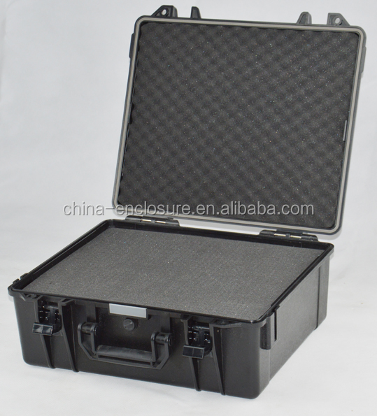 SC045 plastic gun case plastic case for electronic device plastic case with foam