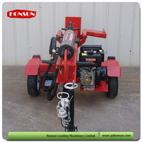 Hot selling 100L 3 position with auto-return control valve super garden tool wood splitter with diesel power 50ton