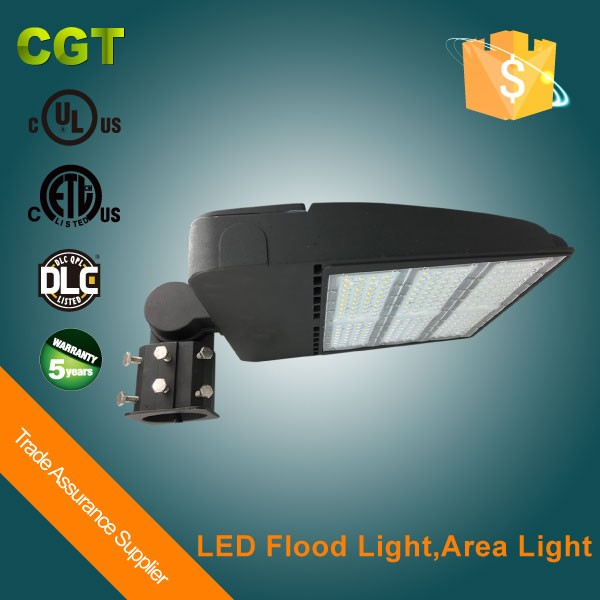 Car park Led light Led parking lot lamps shoe box Led lights 150W DLC ETL listed
