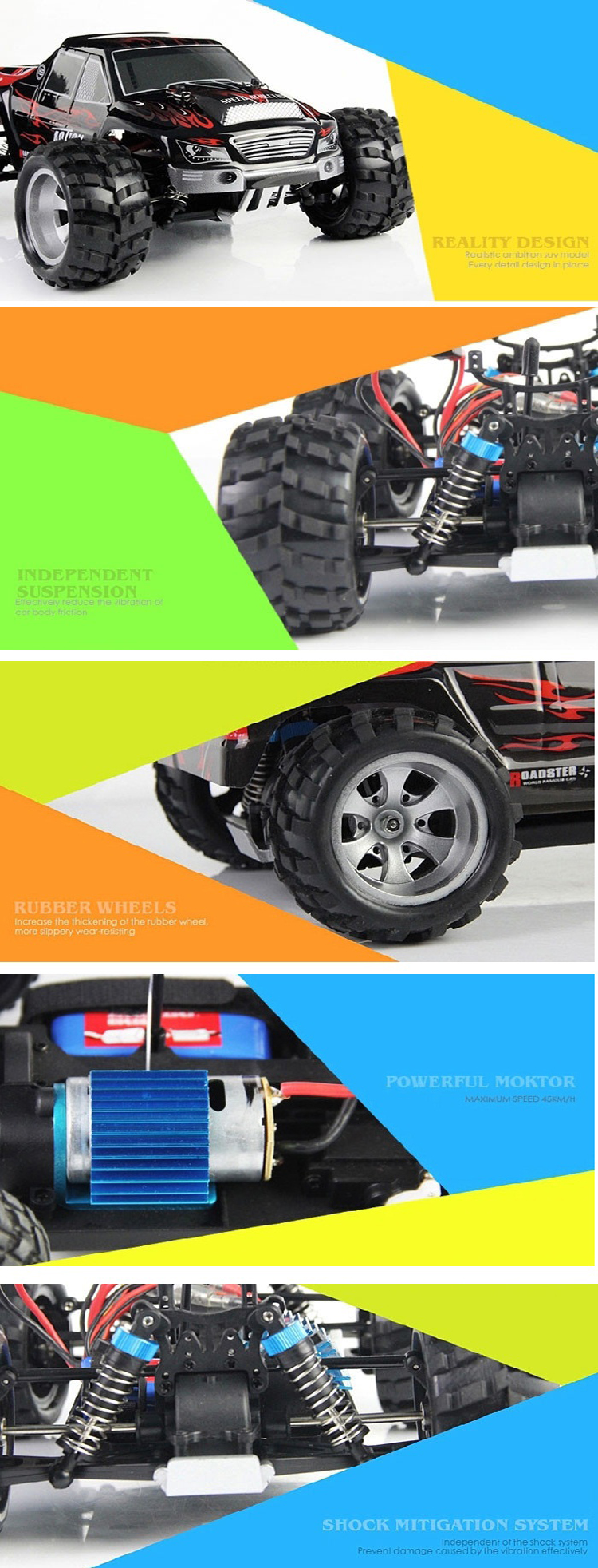 Best seling Global Drone WLToys A979 rc cars models 1/18 Off-Road Vehicle with 2.4G 4CH 4WD RC Car High Speed electric Car.jpg
