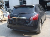 car spoiler Nissan Tiida 11 models Qi tail fin tail primer Tiida ABS material modification car spoiler