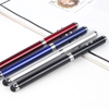2016 Hot selling laser pointer led light ballpoint pen stylus touch pen