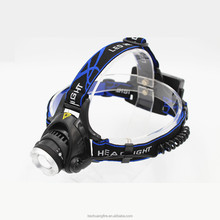 Alibaba led head light T6 aluminium headlamp led rechargeable headlamp headlight for hunting headlamp led headlight
