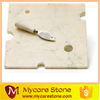 Quality approved marble serving tray, marble cheese cutting