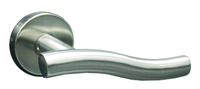 Lever handle for stainless steel