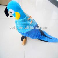 factory supply plush parrot toy &parrot gifts&plush bird