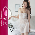 See Through Sexy Ladies Transparent Babydoll Nightwear