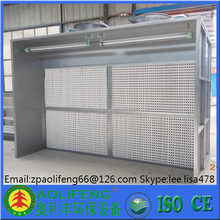 dry type spray booth design