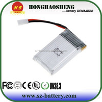 Low price high quality 902540 800mah 3.7v lipo battery for rc drone