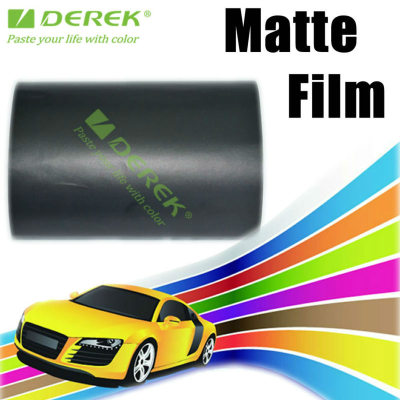 Derek Matte Black Scratch Protection Film For car With Free Air Bubbles 1.52*30m--Manufactory Directly