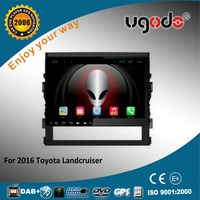 10.1 inch screen size android car stereo for 2016 Toyota landcruiser with video gps navi 3g wifi