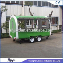 high quality modern mobile food cart/ice Cream concession trailer/towable food trailer for sale