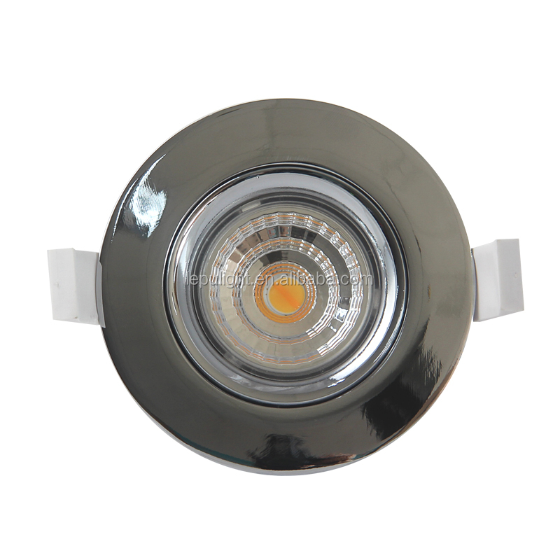Dim2warm 83 cutout Gyro led cob downlight with 5yrs warranty