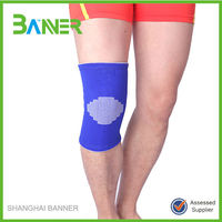 Breathable protective patella bamboo tourmaline knee