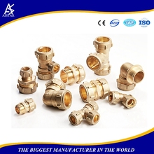 Casting copper plumbing pipe fittings transite pipe transition fittings