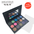 high pigmented eyeshadow/wholesale Pro Shimmer 15 Color Eyeshadow Makeup Cosmetic Palette Eye Shadow