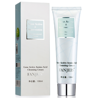 Fanjeis amino acid face wash amino acid face cleanser oil control and hydrating facial cleanser