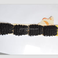 Best Selling Afro Wavy Synthetic Hair Extension in Africa