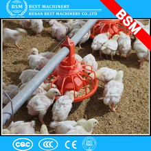 Automatic feeding system closed broiler house chicken farms poultry