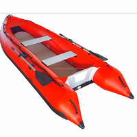 Chinese foldable large inflatable boat for sale