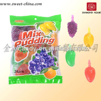 Fruit shape jelly