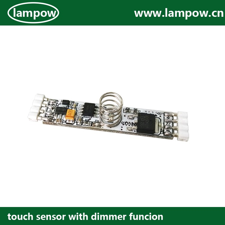 LP-1104 DC5-24V 2A automatic cabinet sensor switch for LED productsNewest automatic touch dimmer 5-24V DC
