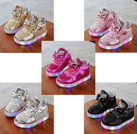 LED Kids Shoes Girls Hello Kitty