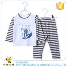 Cotton Kids Sleeping Wear Soft Cartoon Print pajama Winter Suits Clothes