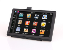 Best 7 inch screen Windows CE 6.0 car gps navigation bluetooth gps satellite navigation Russia/Spain/ Europe/USA Free map