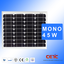 High Efficiency Low Price Mono Solar Panel Manufacturers In China 55W