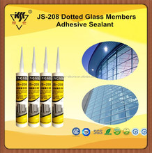 2016 Big Sale High Quality No Corrosion Cement Board Glass Roof Silicone Sealant