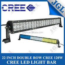 "New 22"" 120W waterProof CREE straight led driving light bar 4x4 racing off road led light bar"