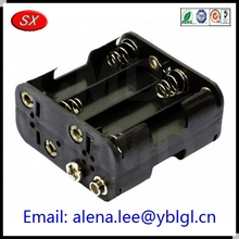 stainless steel 26650 battery holder for A/AA/AAA/4A battery Cr2032