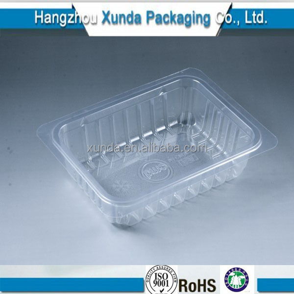 clear plastic food disposable microwavable pp container