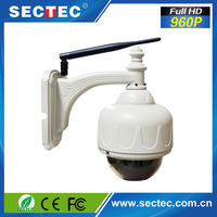 New product 960P High resolution cheap wireless outdoor dome ptz ip camera